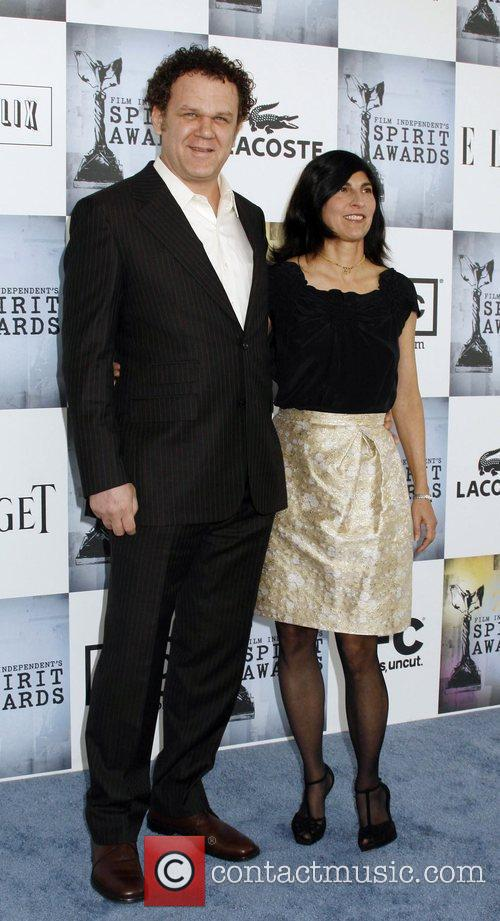 John C. Reilly, Alison Dickey 2009 Film Independent's...