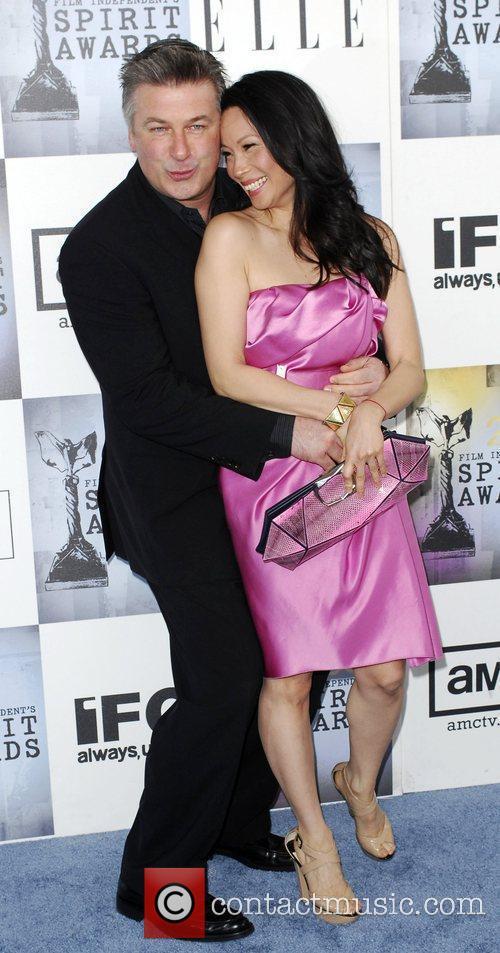 Alec Baldwin, Lucy Liu 2009 Film Independent's Spirit...