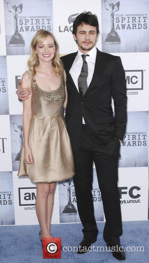 Guest, James Franco 2009 Film Independent's Spirit Awards...