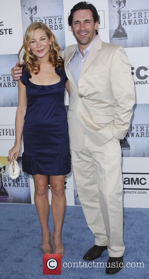 Jennifer Westfeld, Jon Hamm 2009 Film Independent's Spirit...