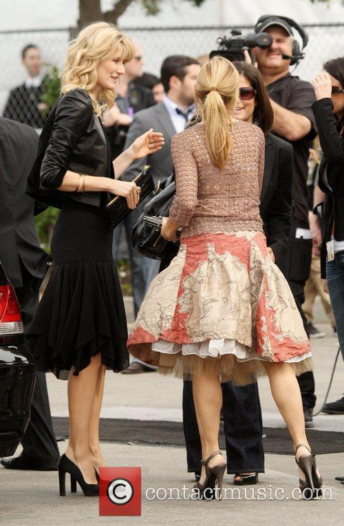 Laura Dern and Sheryl Crow 2009 Film Independent's...
