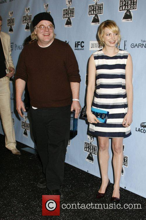 Philip Seymour Hoffman and Michelle Williams 1