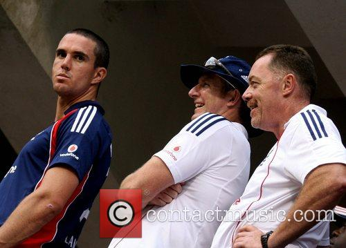 Kevin Pietersen 4th ODI England against India cricket...