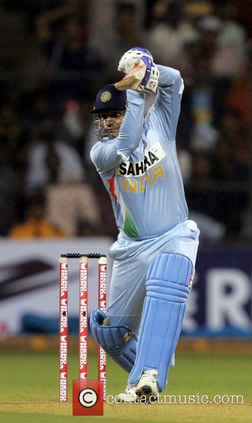 Virender Sehwag 4th ODI England against India cricket...
