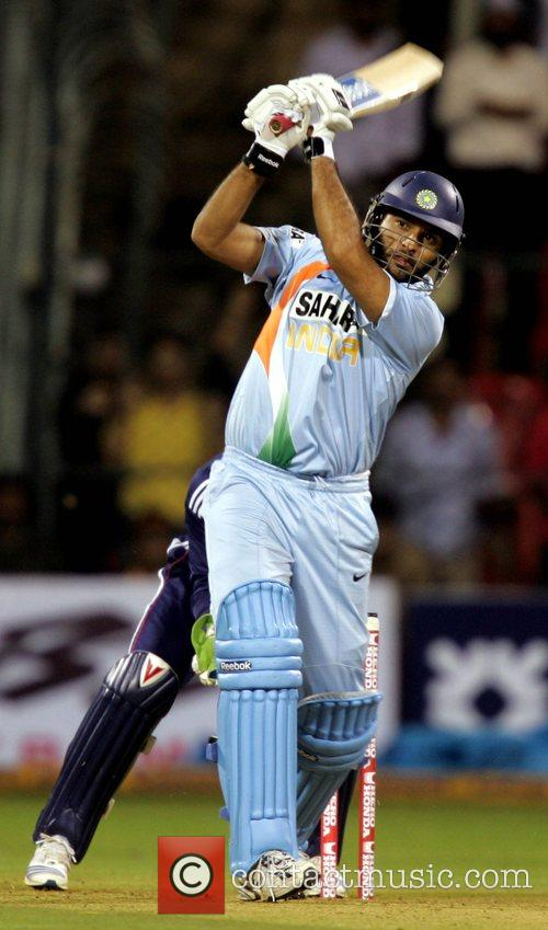 Yuvraj Singh 4th ODI England against India cricket...