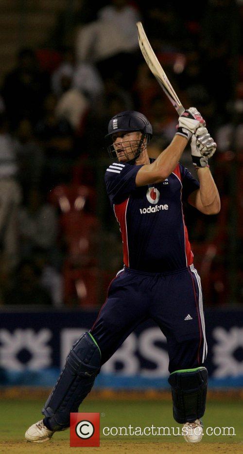 Andrew Flintoff 4th ODI England against India cricket...