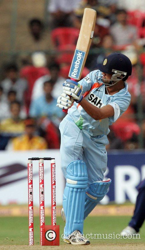 Playing for India in the Fourth ODI against...