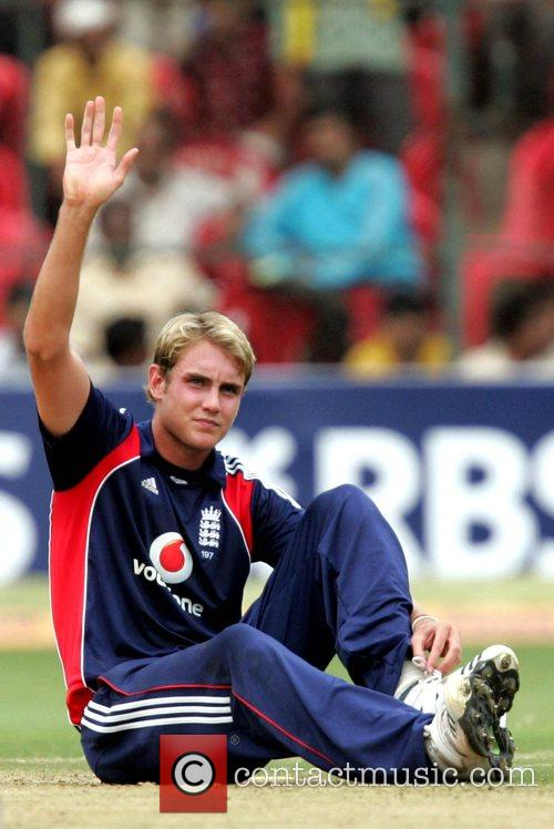 Playing for England in the Fourth ODI against...