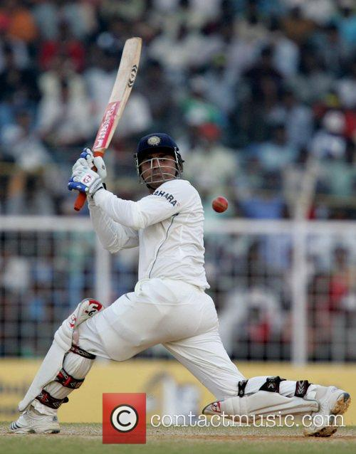 Virender Sehwag Day 4 of the India v...