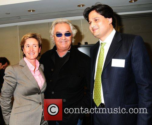 Flavio Briatore and private banking team ING Fresh...