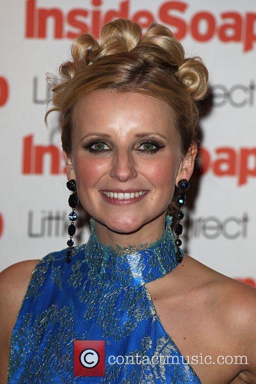 Carley Stenson Inside Soap Awards 2008 London, England