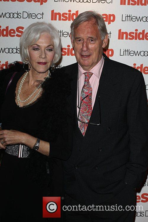 Linda Thorson and guest Inside Soap Awards 2008...