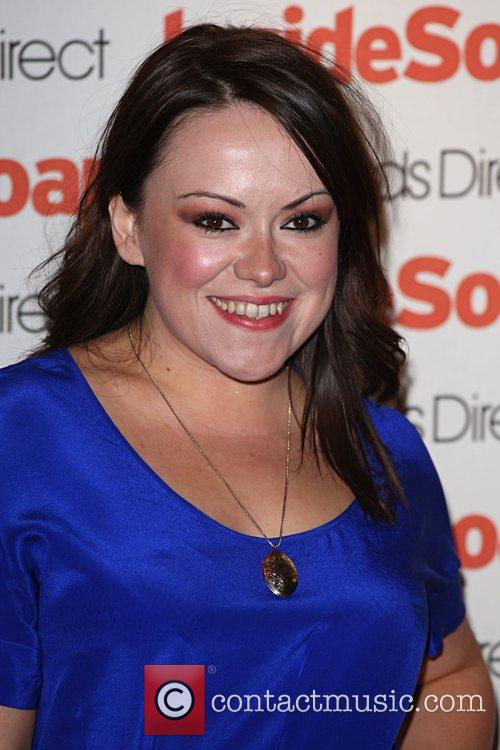 Sian Reese-Williams Inside Soap Awards 2008 London, England