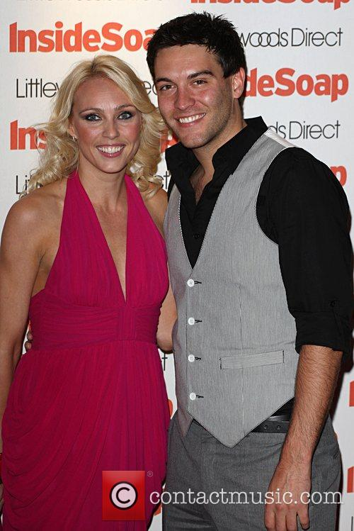 Camilla Dallerup and Kevin Sacre Inside Soap Awards...