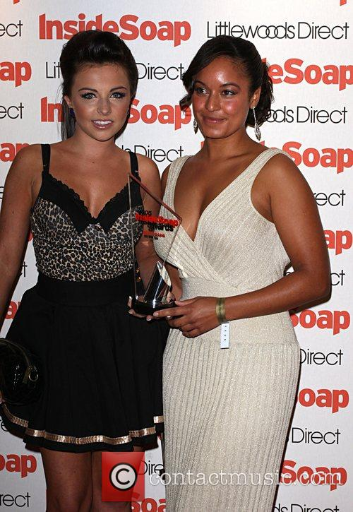 Rhea Bailey and Louisa Lytton Inside Soap Awards...
