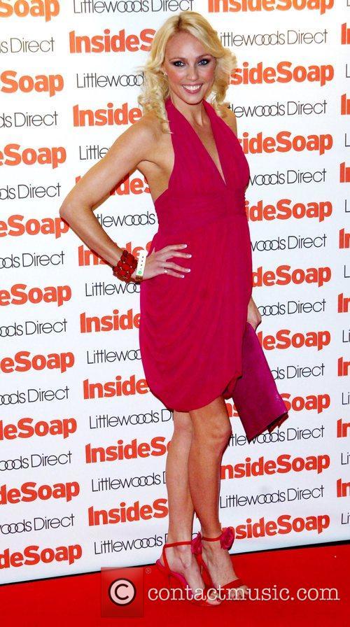 Camila Dallerup Inside Soap Awards 2008 London, England