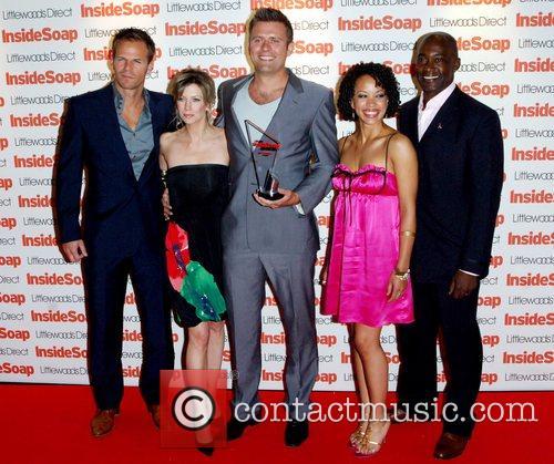 Cast of The Bill Inside Soap Awards 2008...