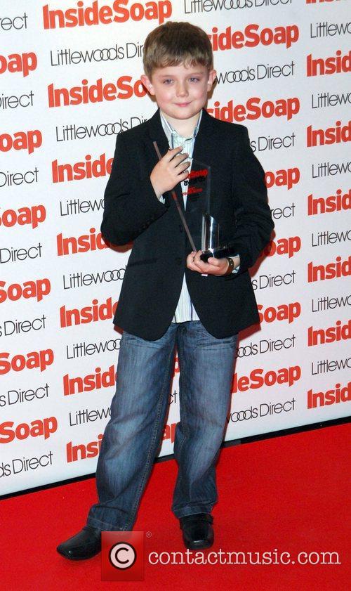 Ellis Hollins Inside Soap Awards 2008 London, England