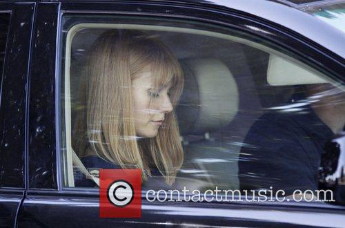 Gwyneth Paltrow on the film set of 'Iron...
