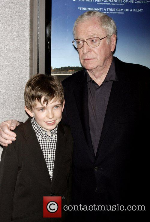 Bill Milner and Sir Michael Caine 2