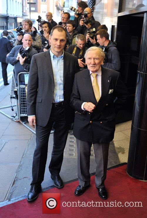 David Morrissey and Leslie Phillips Gala Premiere of...