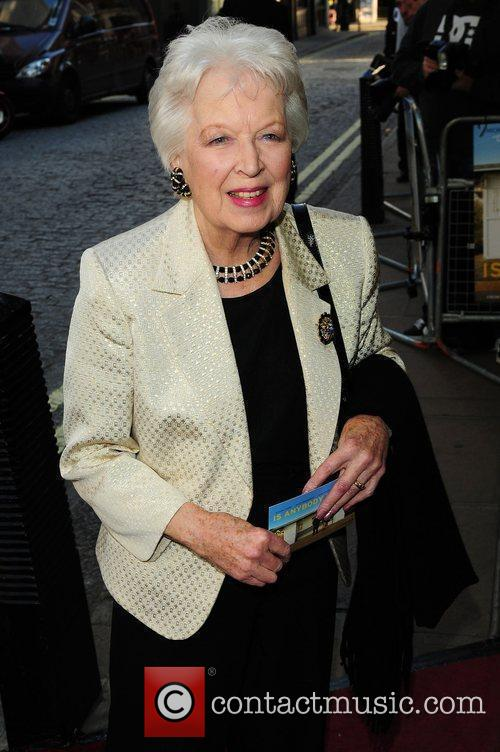 June Whitfield Gala Premiere of 'Is Anybody There?'...