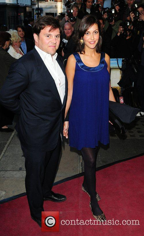 Natasha Caine and Guest Gala Premiere of 'Is...