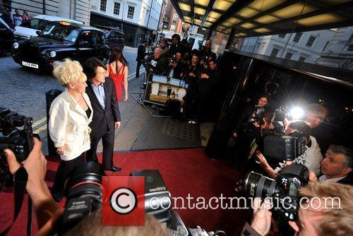 Barbara Windsor and Guest Gala Premiere of 'Is...