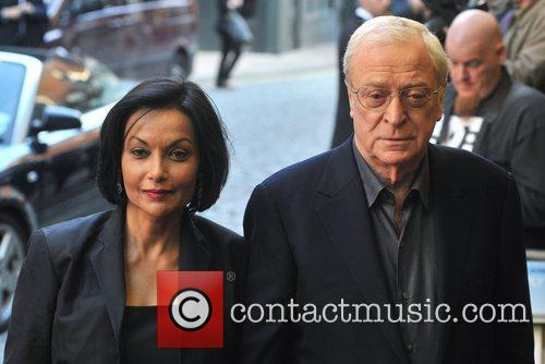 Shakira Caine and Michael Caine Gala Premiere of...