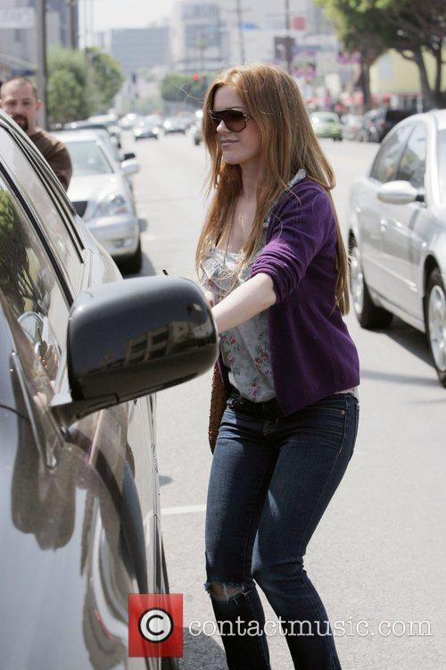 Isla Fisher  leaving Joan's On Third after...