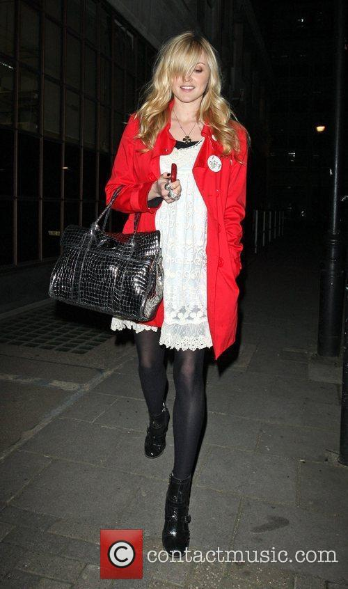 Fearne Cotton at the ITV studios