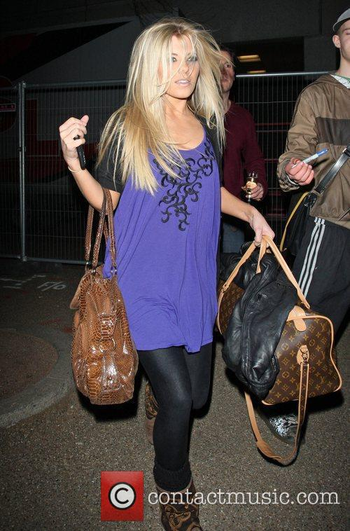 Mollie King from The Saturdays at the ITV...