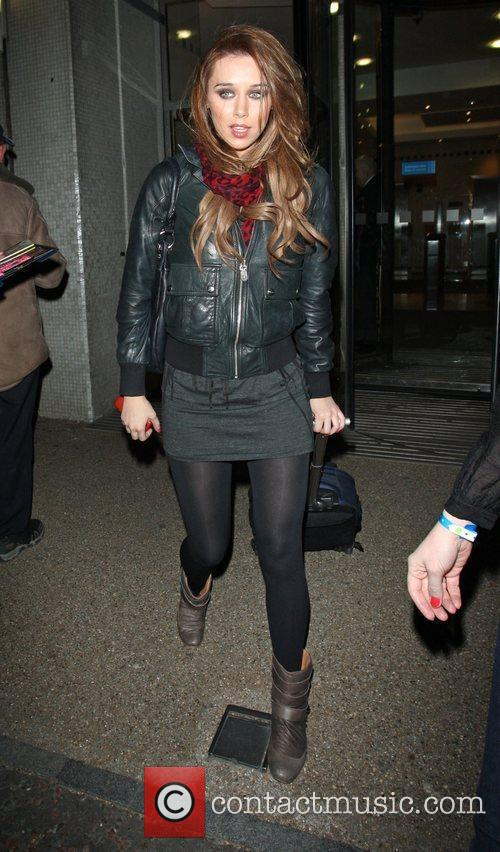 Una Healey from The Saturdays at the ITV...