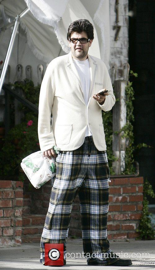 Jason Davis outside The Ivy restaurant Los Angeles,...