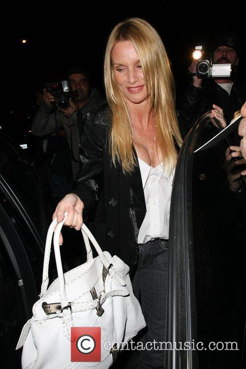 Nicollette Sheridan who recently quit her role as...