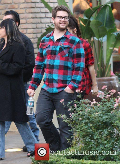Jack Osbourne goes shopping at the Apple store...