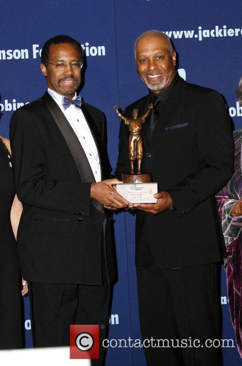 Dr Benjamin Carson and James Pickens The 2009...