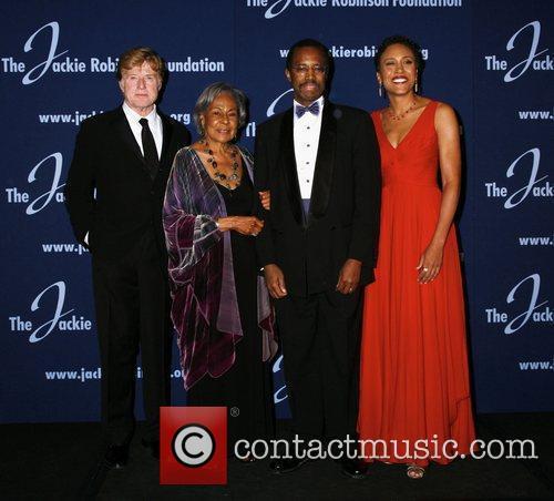 Robert Redford, Rachel Robinson, Dr Benjamin Carson and...