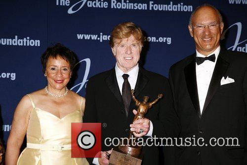 Shelia Johnson and Robert Redford 5