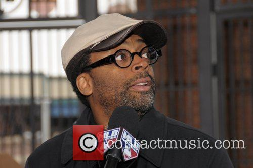 Director Spike Lee  Jackie Robinson Rotunda dedication...