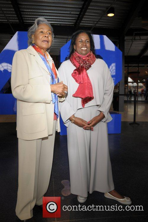 Rachel Robinson and daughter Sharon Robinson  Jackie...