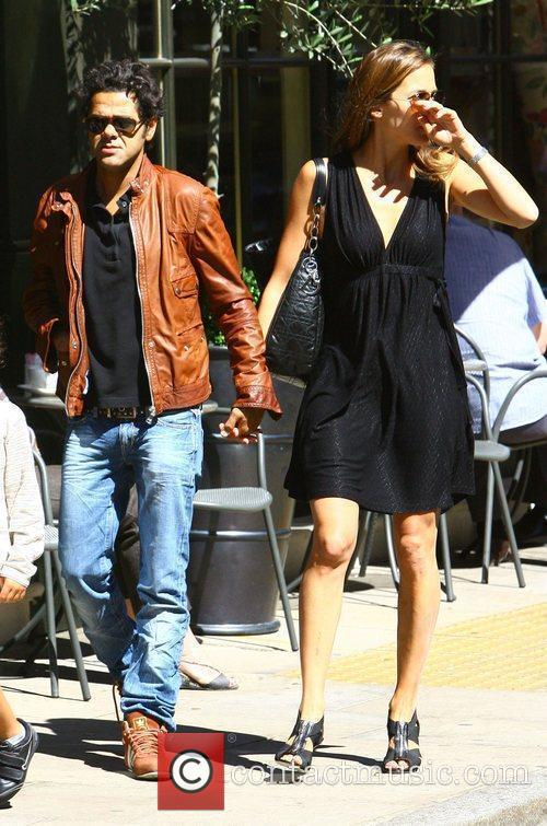 French Actor Jamel Debbouze Has Lunch With His Wife Melissa Theuriau 2