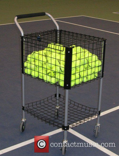 Tennis balls 'Serving up the Holidays' fundraising event...