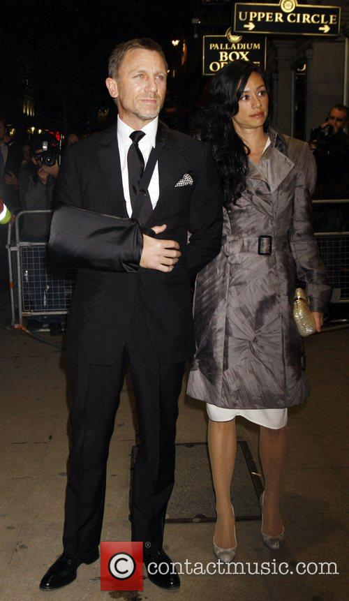 Daniel Craig and Satsuki Mitchell 1