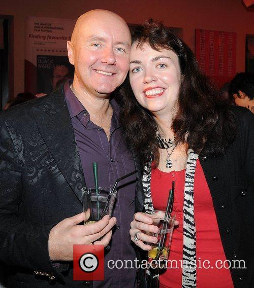Irvine Welsh and Beth Quinn (wife) 2