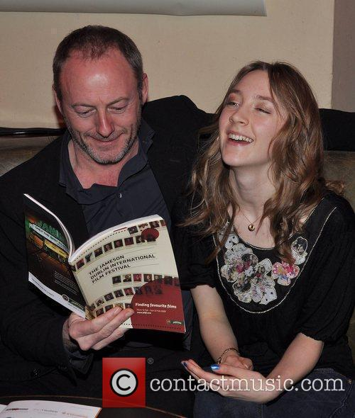 Liam Cunningham and Saoirse Ronan 2