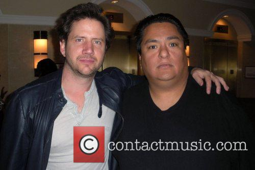 Jamie Kennedy picks up a cold beverage at...