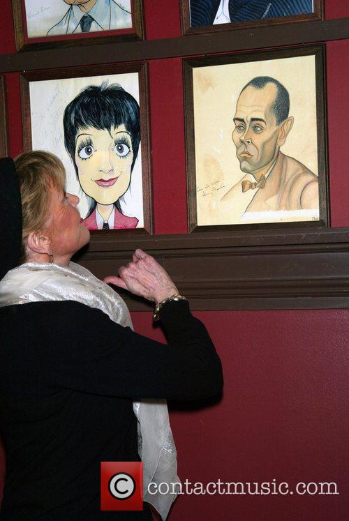 Jane Fonda glimpses at the vintage portrait of...