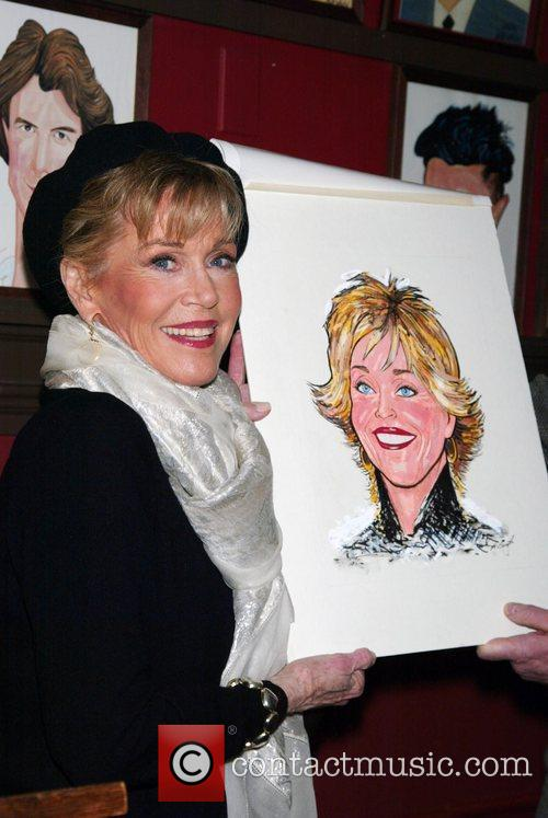 Unveiling of the Jane Fonda Wall of Fame...