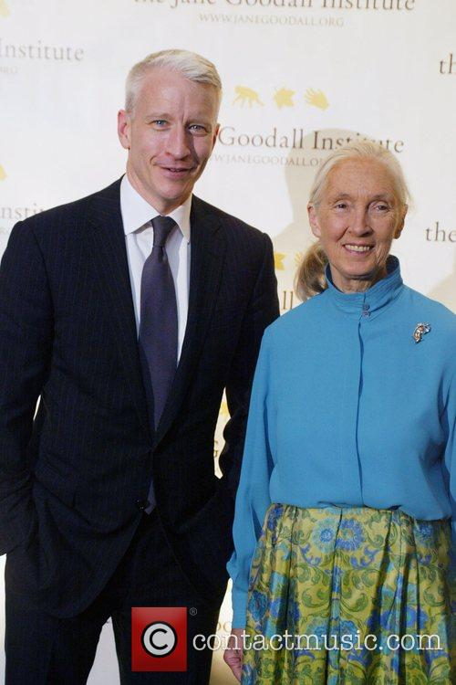 Anderson Cooper and Jane Goodall 3